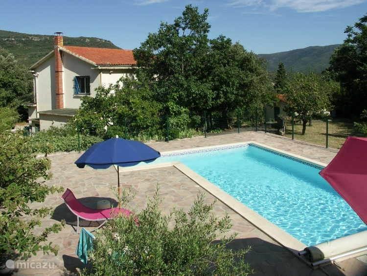 Vacation rental France, Languedoc-Roussillon, Lamalou-les-Bains holiday house Villa Les belles vues