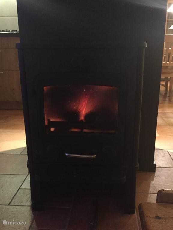 Extra warmte en sfeer met het houtkacheltje