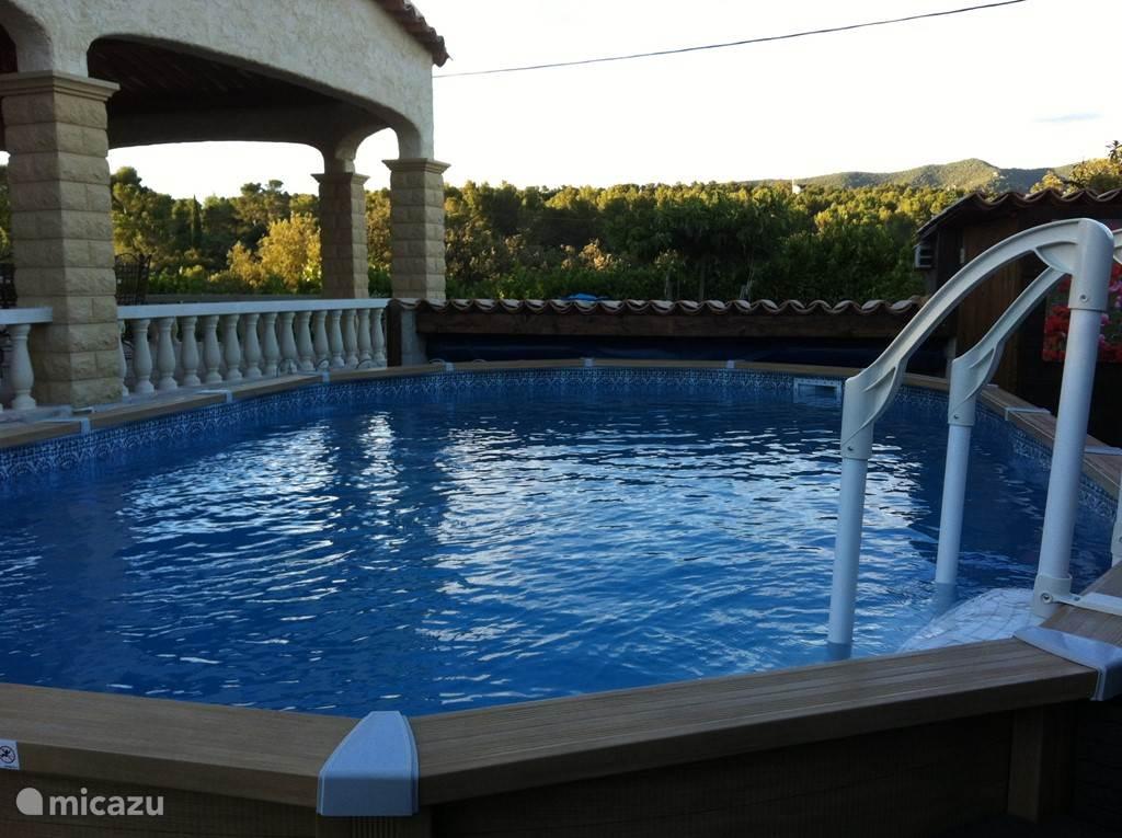 Zwembad met zoutwater