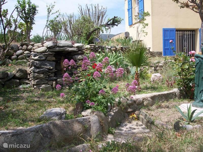Een tuin met veel uitzichten
