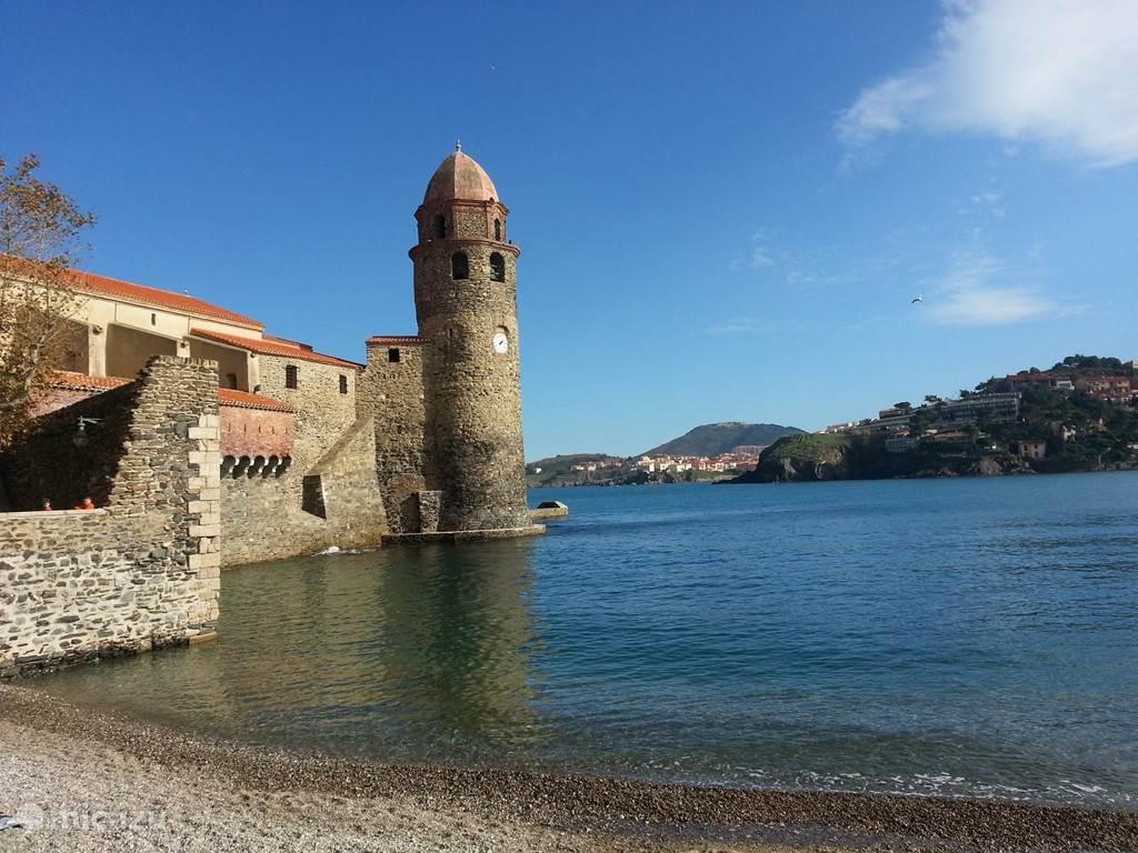 Het pittoresque vissersdorp Collioure is op 40 minuten afstand Een prachtige tocht langs de kust is zeker de moeite waard