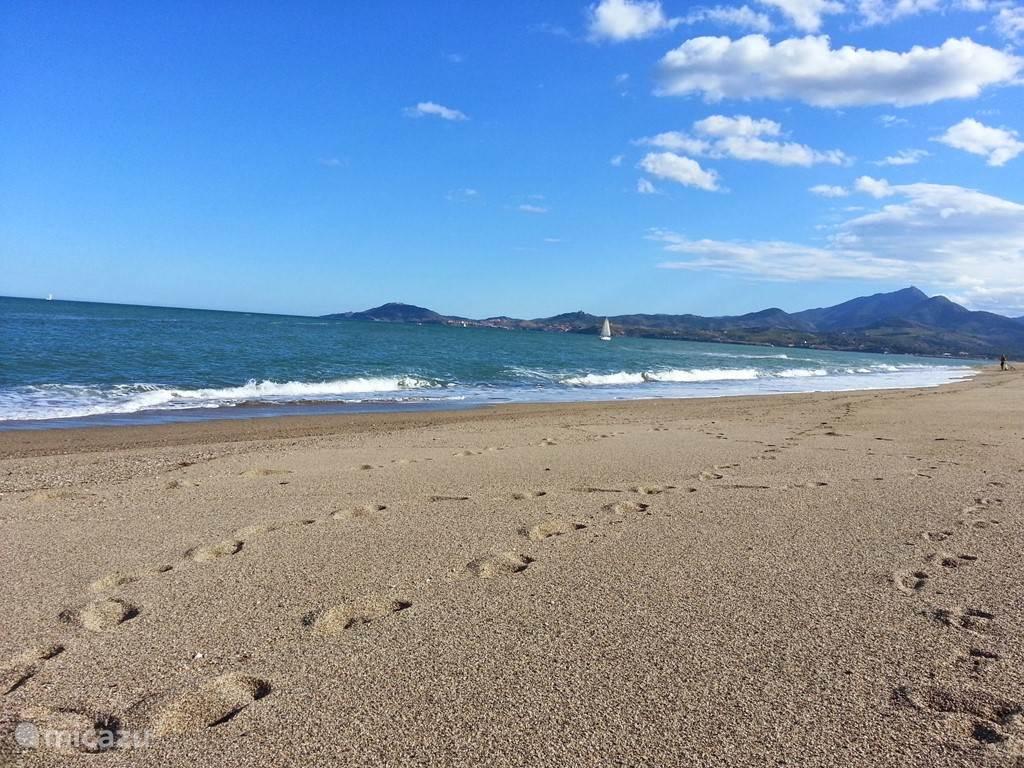 De zee is op 30 minuten afstand