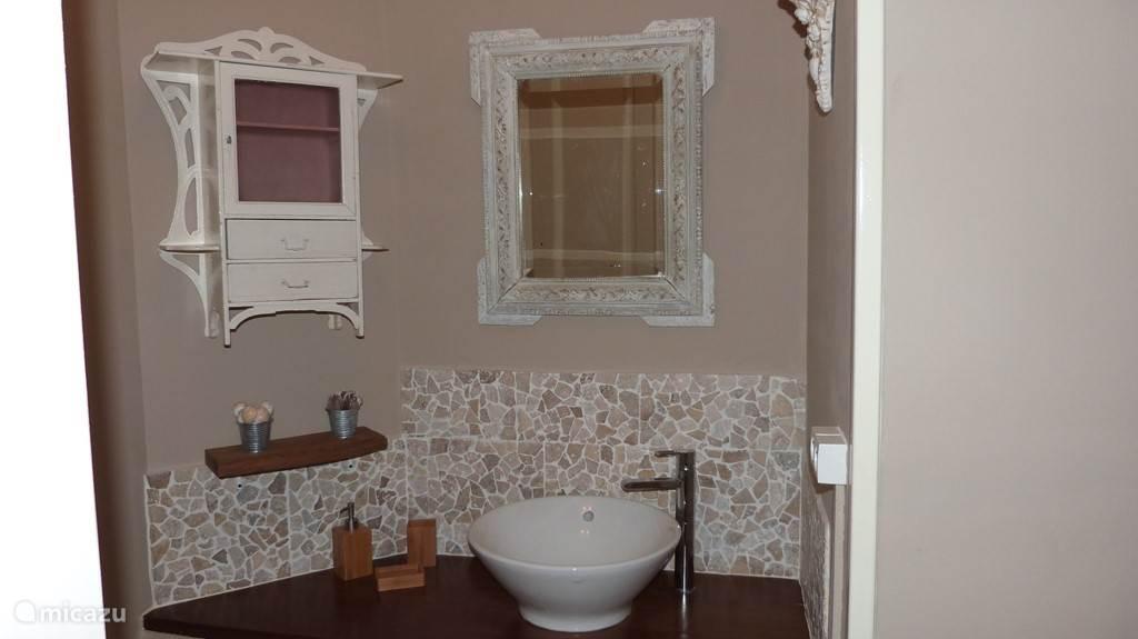 Een kijkje in 1 van de badkamers