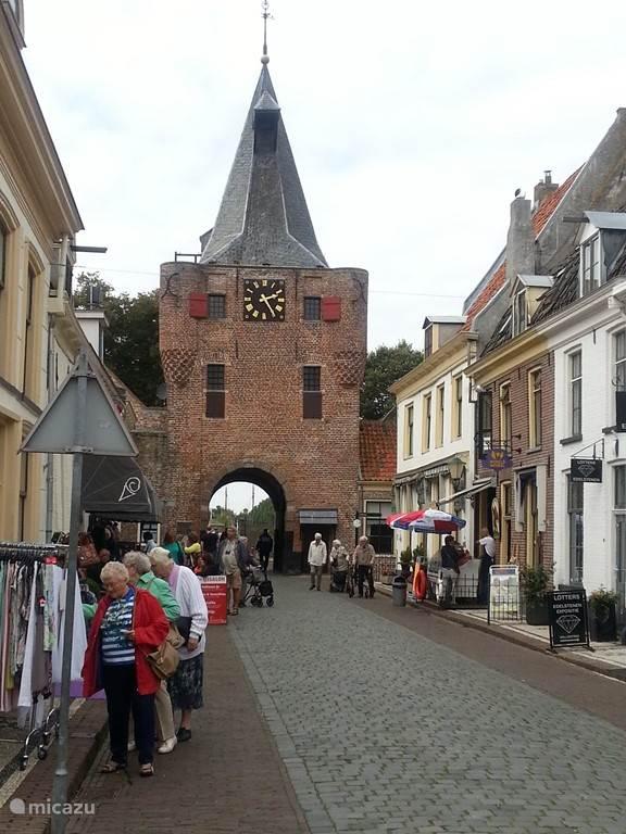 Oude stadspoort in Elburg