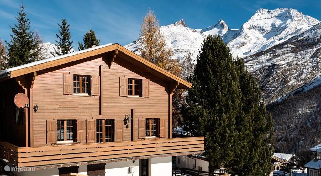 Vakantiehuis Zwitserland, Wallis, Saas Fee Chalet Chalet Schliechten Saas fee