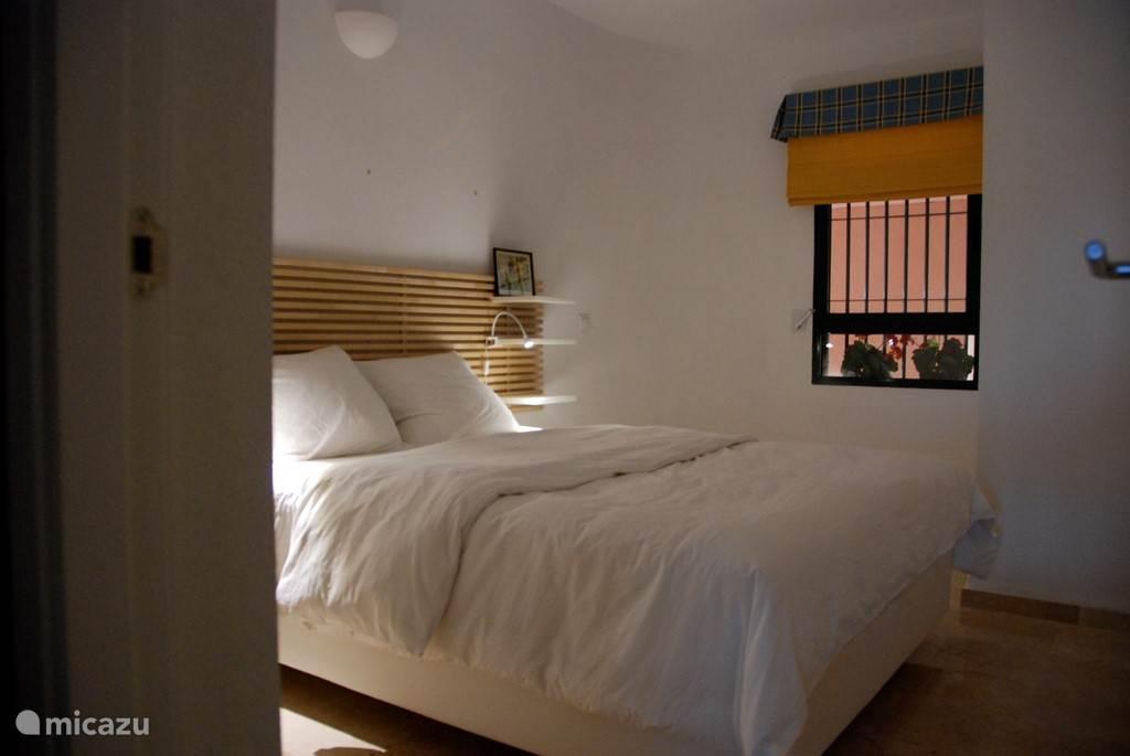 Tweede grote slaapkamer.