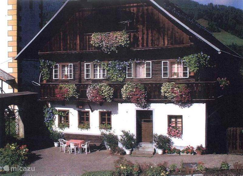 Vacation rental Austria, Carinthia, Kaning (Radenthein) Apartment Alpentraum, apartement Almhof
