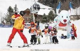 Also for children is wonderful skiing.