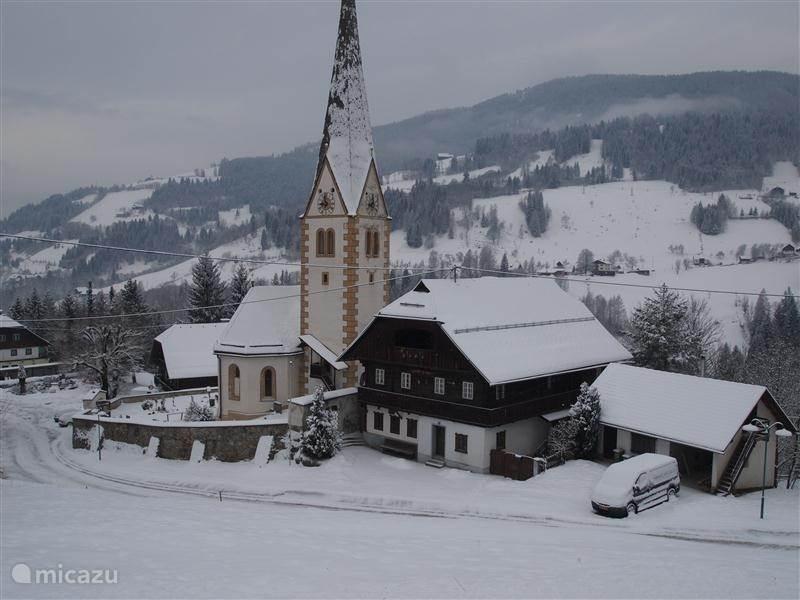 Vakantiehuis Oostenrijk, Karinthië, Kaning (Radenthein) appartement Alpentraum, appartement Berghof