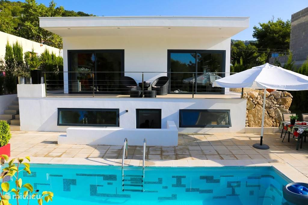 Vakantiehuis Spanje, Ibiza, Cala Llonga - bungalow Casa Mia