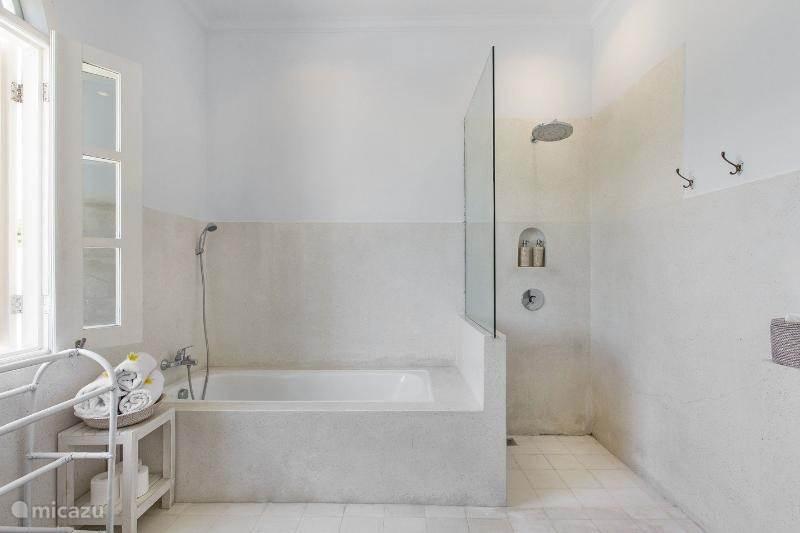 Het toilet bij de master bedroom