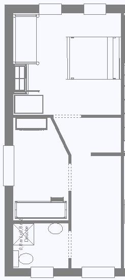 Plattegrond Keuken Restaurant : Boerderij Haus am Wilde Aar 4-6 personen in Medebach, Sauerland