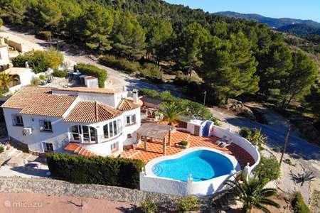 Vakantiehuis Spanje, Costa Blanca, Jalón villa Casa Blanca