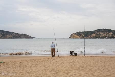 De oude vissersbaai