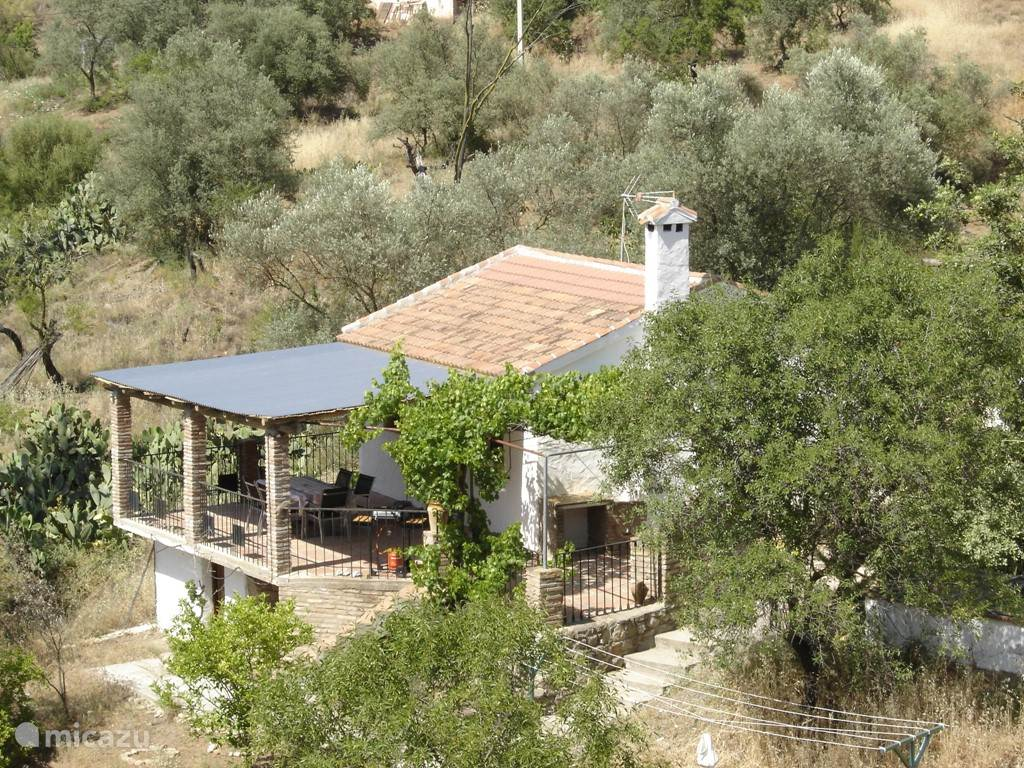 Vakantiehuis Spanje, Andalusië, Comares Vakantiehuis El Olivo Comares