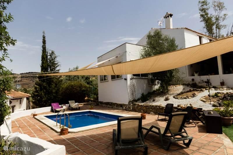 Vakantiehuis Spanje, Costa del Sol, Comares Vakantiehuis El Olivo Comares
