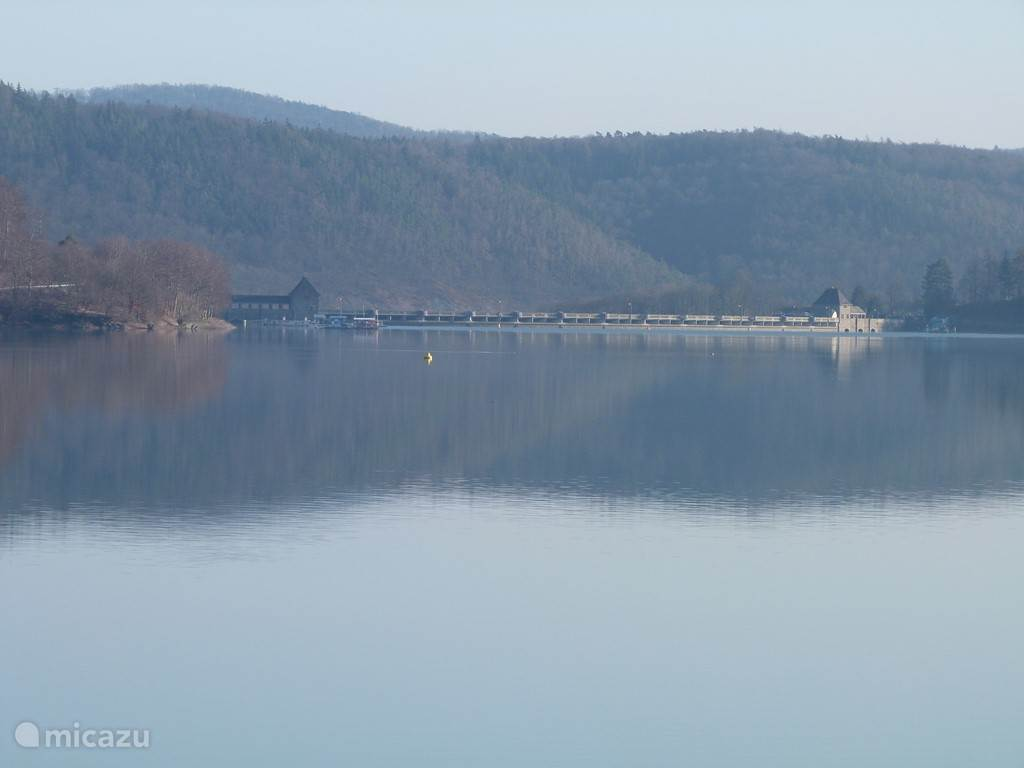 Edersee in the fall