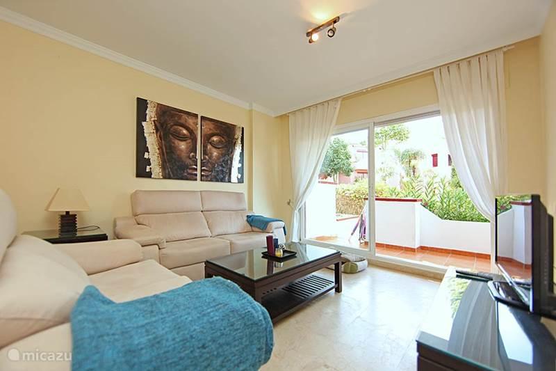 Vakantiehuis Spanje, Costa del Sol, Marbella Appartement Luxe strand appartement Elviria