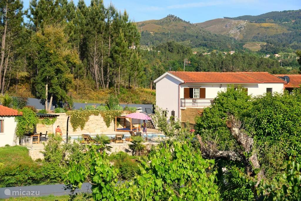 Vakantiehuis Portugal, Noord-Portugal – vakantiehuis Quinta do cascalhal