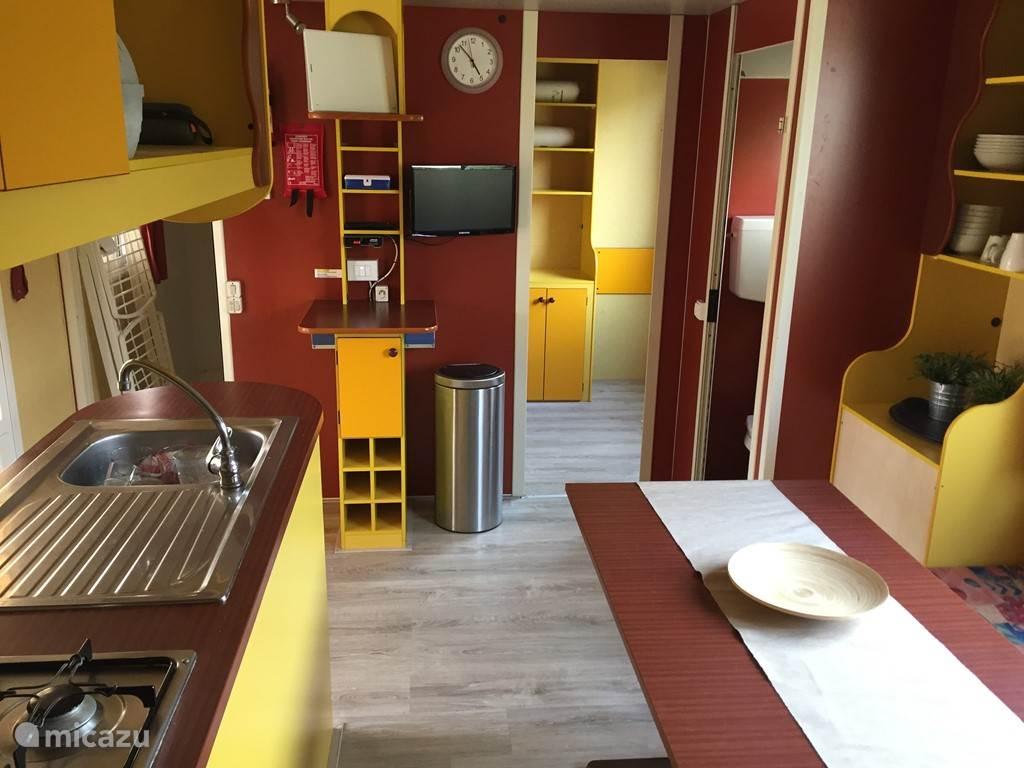 Vakantiehuis Italië, Toscane, Viareggio Stacaravan Mobile Home Italië nr.6. Liberi