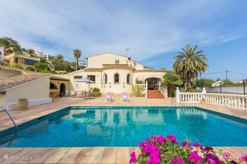 Vacation rental Spain, Costa Blanca, Benissa holiday house Casa Magnolia