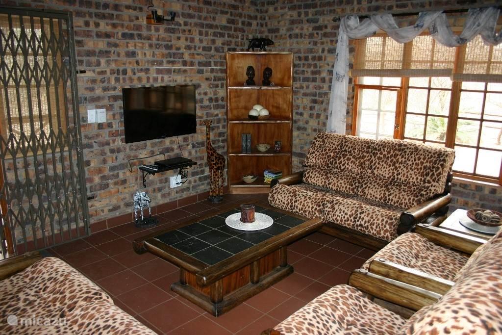 De woonkamer met tv en dvd en Wifi