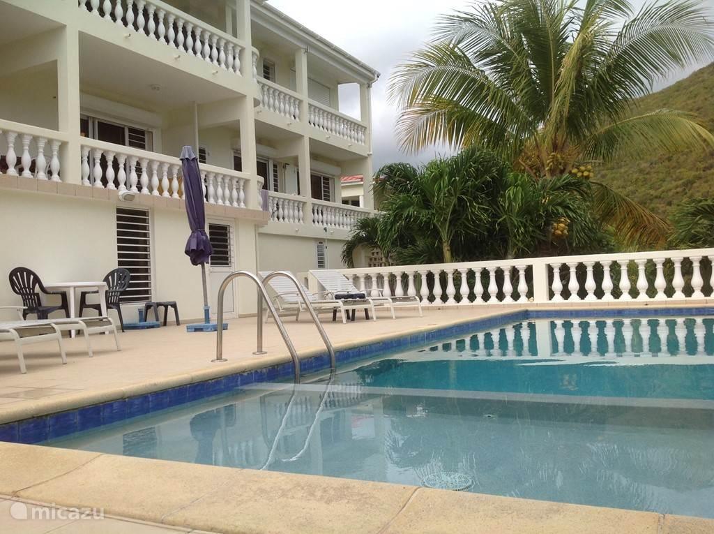 Vakantiehuis Sint Maarten, Sint Maarten, Dawn Beach - studio Studio aan het zwembad