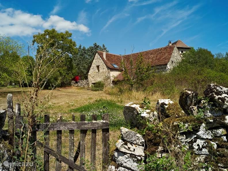 Vakantiehuis Frankrijk, Lot, Carayac boerderij The Barn - Wifi en privé zwembad