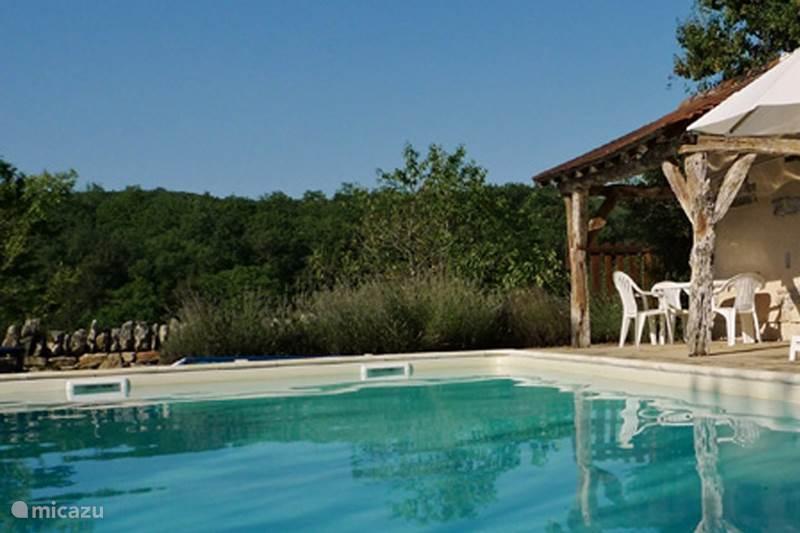 Vakantiehuis Frankrijk, Lot, Carayac Vakantiehuis The Barn - Wifi en privé zwembad