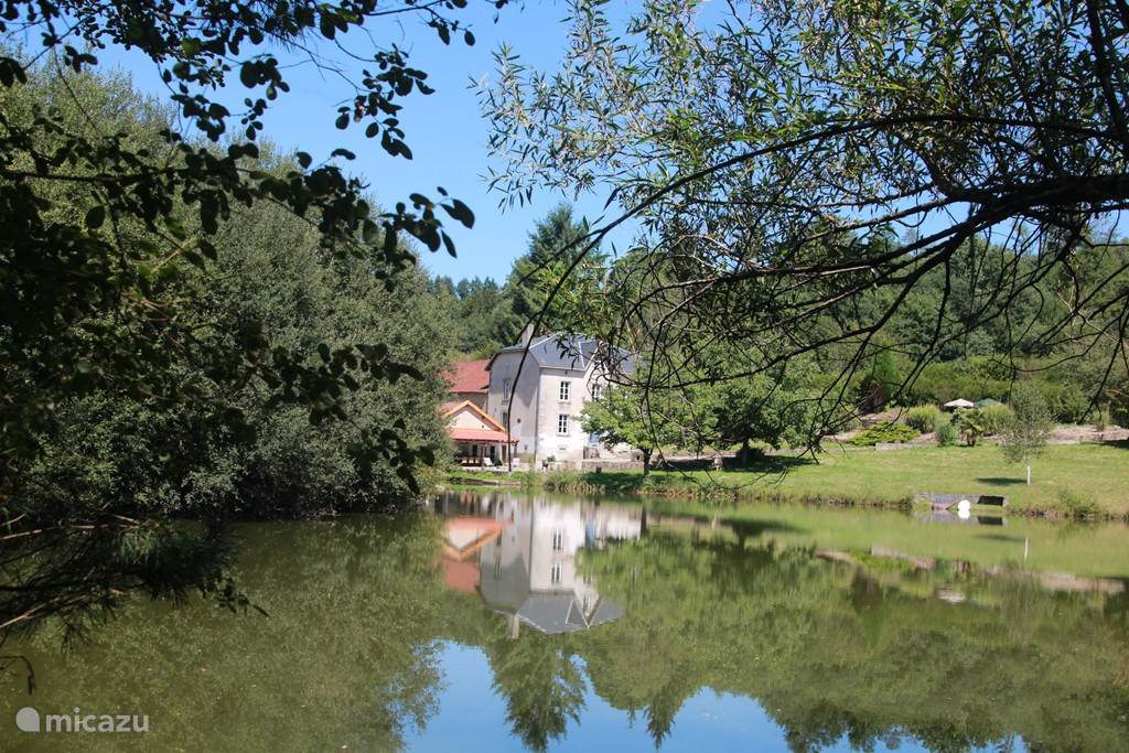The typical French manor, also called maison de maître situated in an enchanting setting. The manor has all the comforts and can accommodate up to 12 people. Lots of space inside and out. Private (fish) more on its own grounds of about 4 hectares.