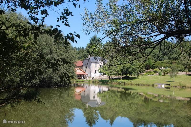 Vakantiehuis Frankrijk, Creuse, Saint-Moreil Villa Les Moulins le Manoir