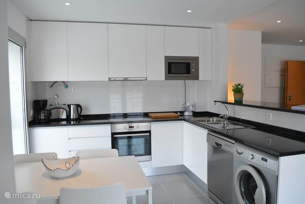 open keuken appartement 1