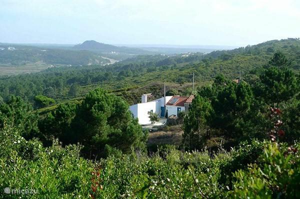 Het huis ligt op 1500 meter van de kust