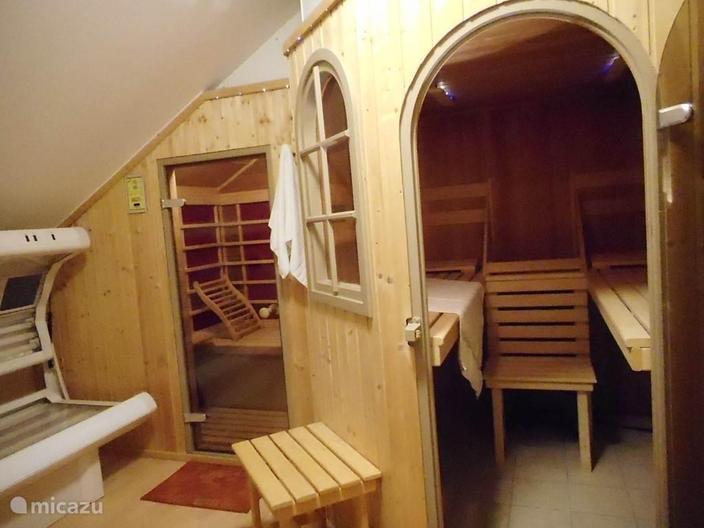 solarium - infrarod-kabine - sauna