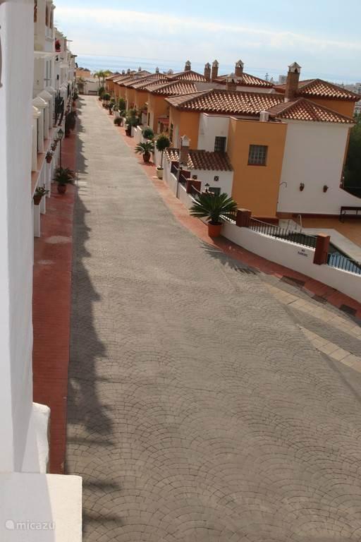 Het gezellige en verzorgde straatje van appartement BUR01