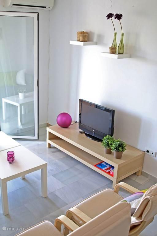 Zitgedeelte appartement Burriana BUR01