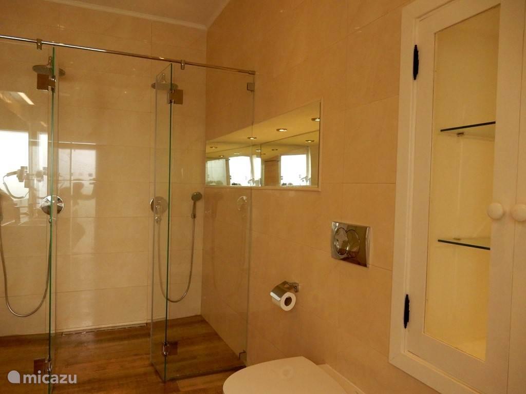 Badkamer met dubbele inloopdouche