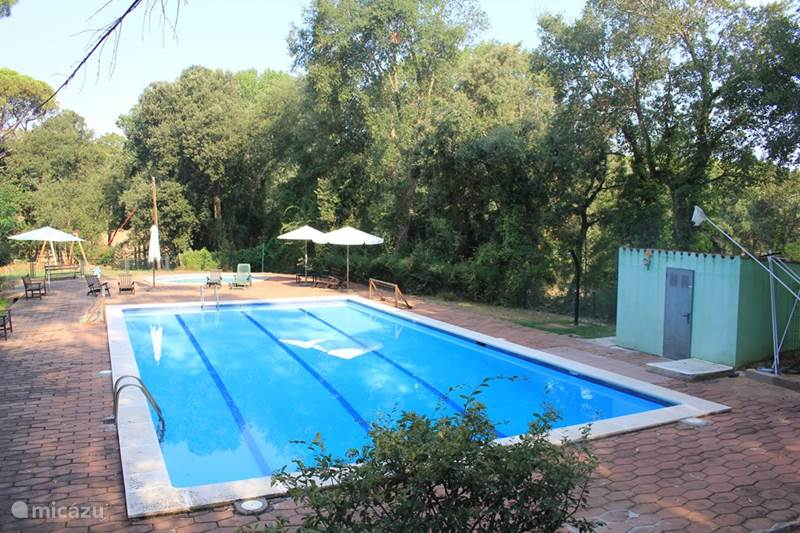 Vakantiehuis Spanje, Costa Brava, Santa Cristina d'Aro Villa Vakantiewoning Bosrand