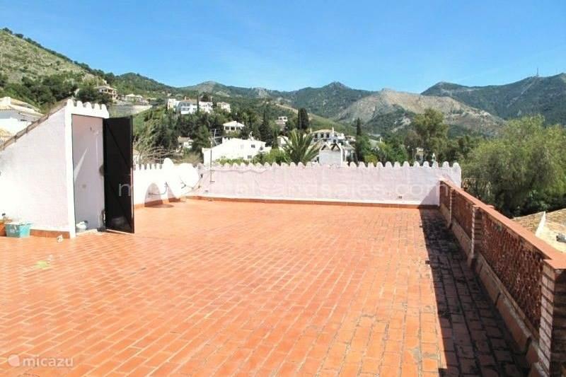 Vakantiehuis Spanje, Andalusië, Mijas Geschakelde woning Huisje in Mijas dorp