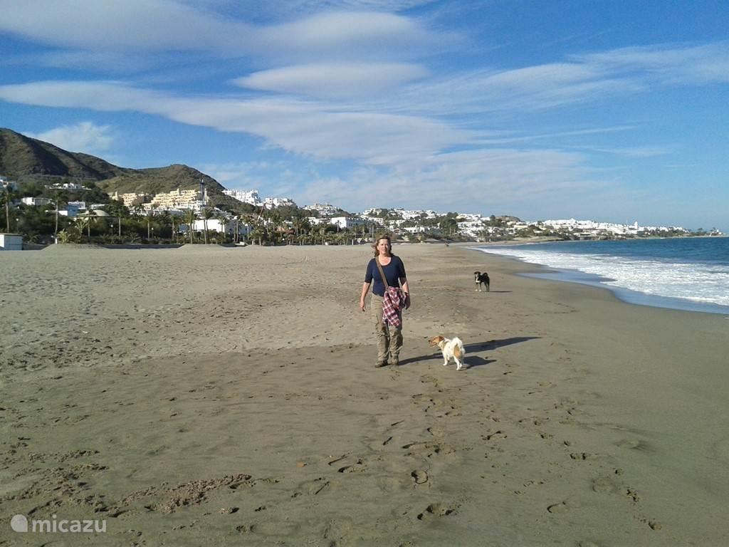 Stranden vanaf Vera Playa tot Mojacar playa