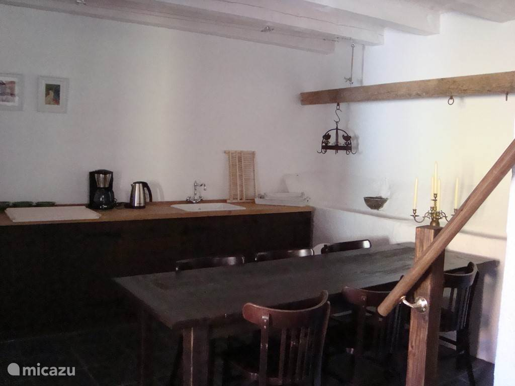 Kitchen of the oldest cottage