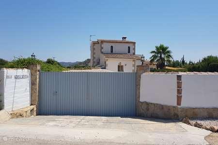 Vakantiehuis Spanje, Costa Blanca, Jalón villa Casa Gusta