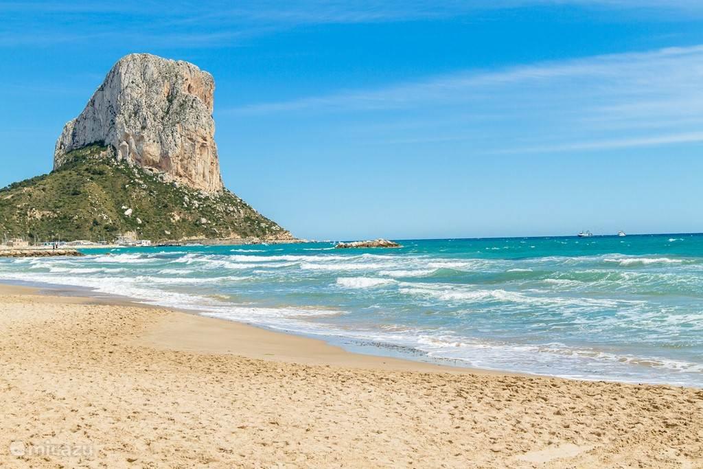 ... en de mooie stranden van de Costa Blanca zijn vlakbij ... Calpe ...