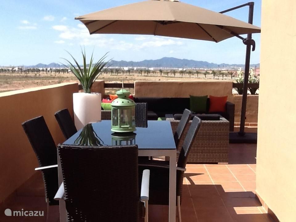 Vakantiehuis Spanje, Costa Cálida, Alhama de Murcia penthouse La Isla 92A