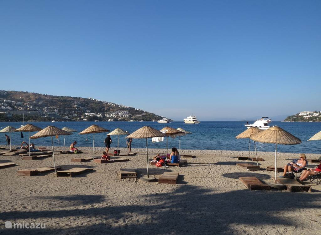 Het strand van Gündogan