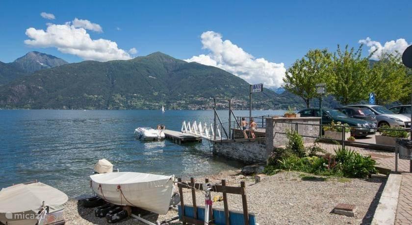 Uitzicht over het Como meer