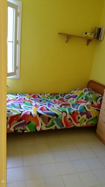 De kleine slaapkamer