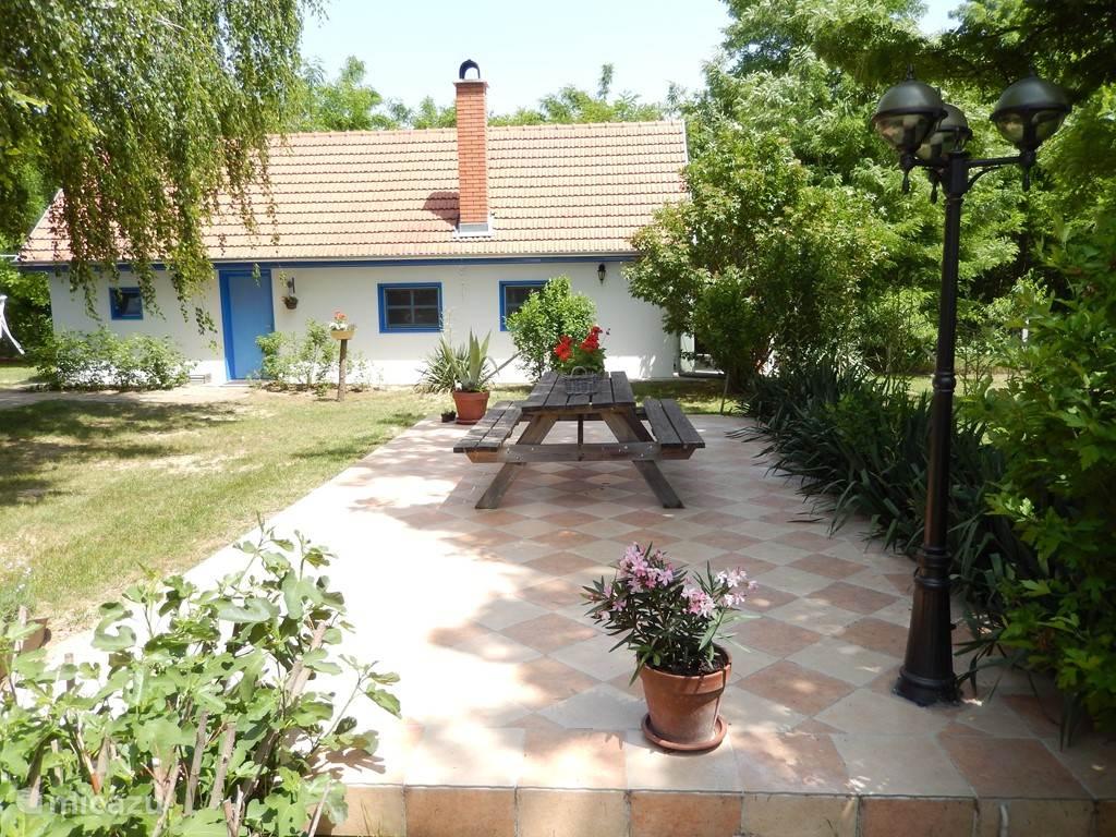 Het huis met terras