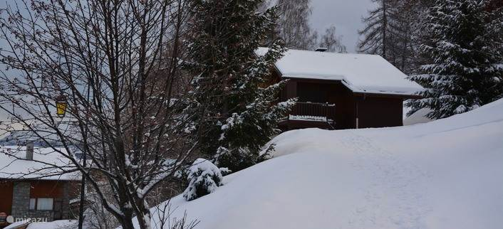 Access path to chalet