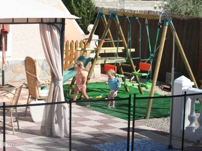 Speel plezier voor de kinderen